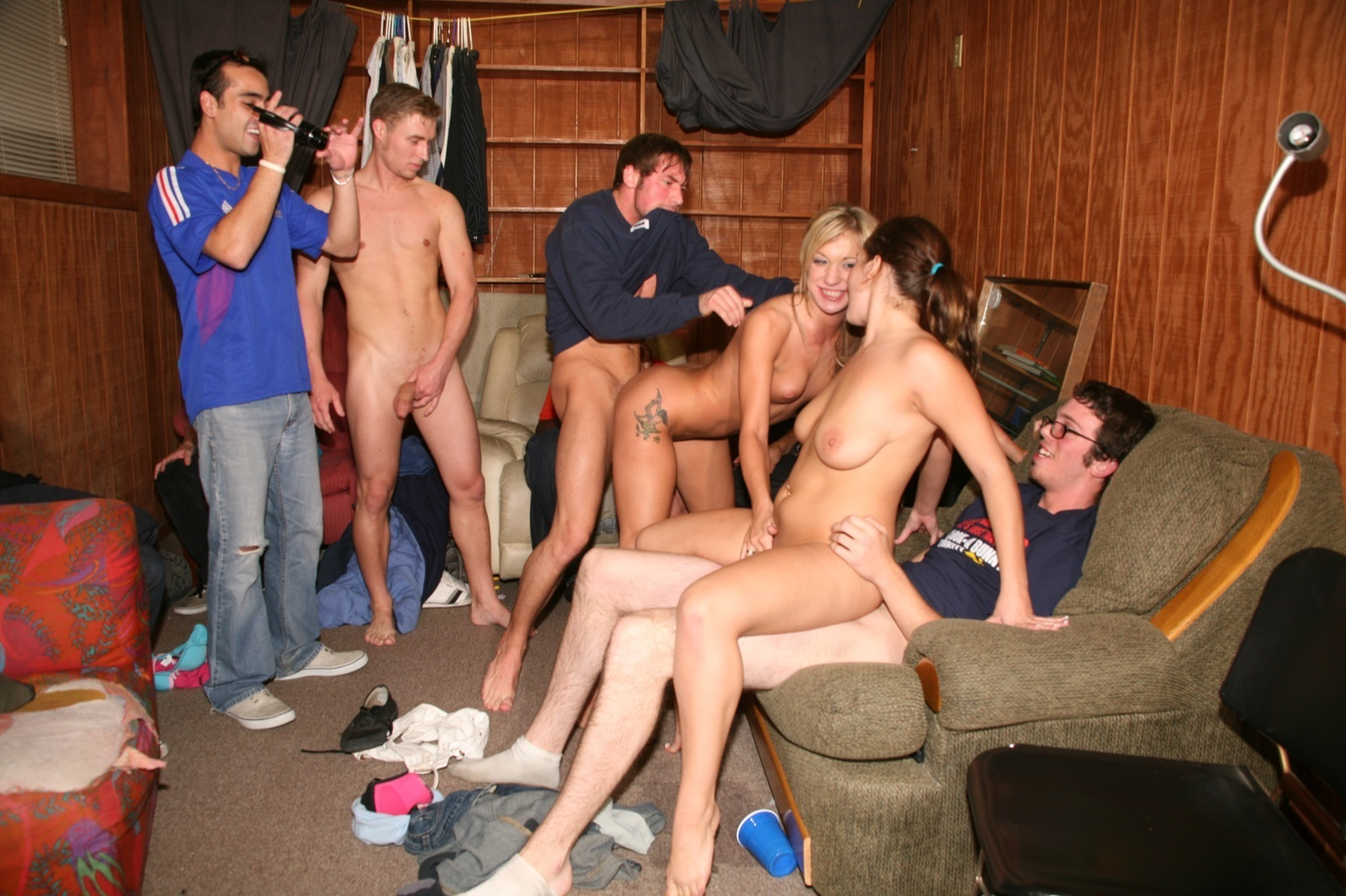Drunk College Students Fucking